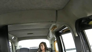 Lady in pink underwear boned by nasty driver in the cab
