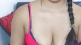 Real Amateur Indian Bindi Forehead Naughty Masturbation On Webcam
