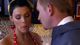 Bill Bailey fucks Peta Jensen doggystyle from behind