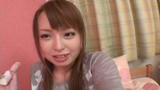 Japanese wanker Ichika is busy with pleasing her wet fancy