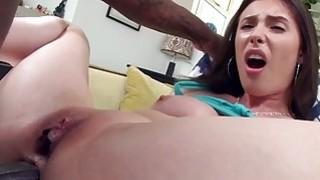 Casey Calvert takes anal fucking by big black cock