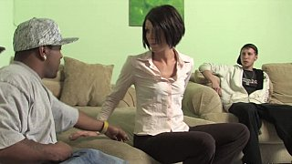 Short-haired BBC addict
