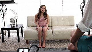 First-time FFM audition threesome