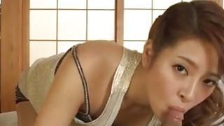 Magic blowjob in POV with superb Nana Ninomiya