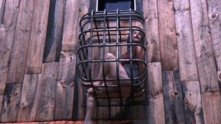 Another poor slut Charlotte Vale has to languish in the slave cage